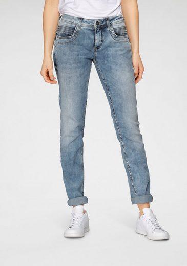 STREET ONE Slim-fit-Jeans »Crissi« mit umweltbewusster Waschung