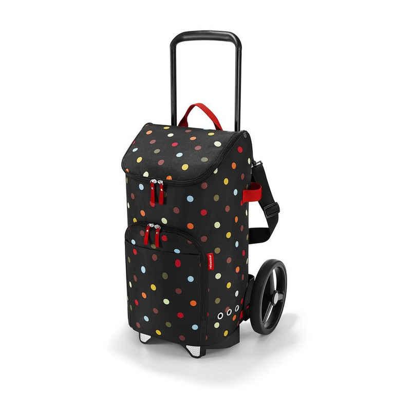 REISENTHEL® Einkaufstrolley »citycruiser Rack + citycruiser Bag Set, moderner, robuster Einkaufstrolley aus Aluminium, leichtlaufende Rollen - große Einkaufstasche, 45 l«