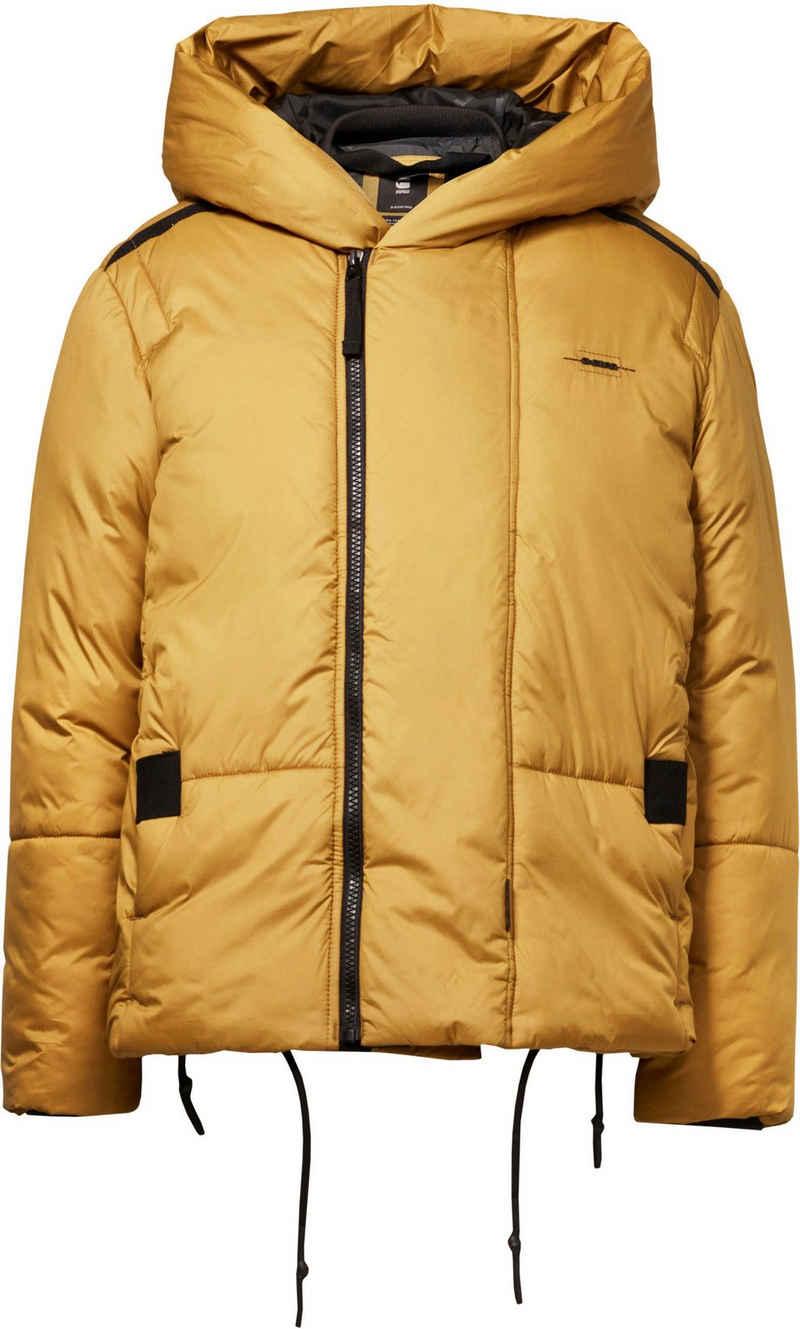G-Star RAW Steppjacke »G - Whistler Short Padded Jacke« Short Padded Jacke aus wasserabweisendem Material m. großer Kapuze