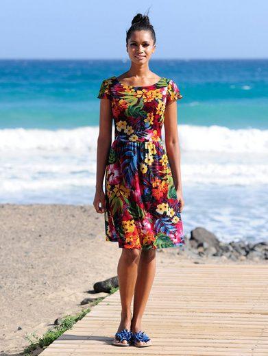 Alba Moda Strandkleid aus luftiger Meshware