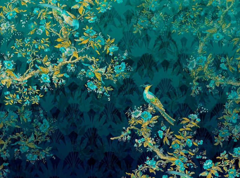 Komar Vliestapete »Paradis«, glatt, naturalistisch