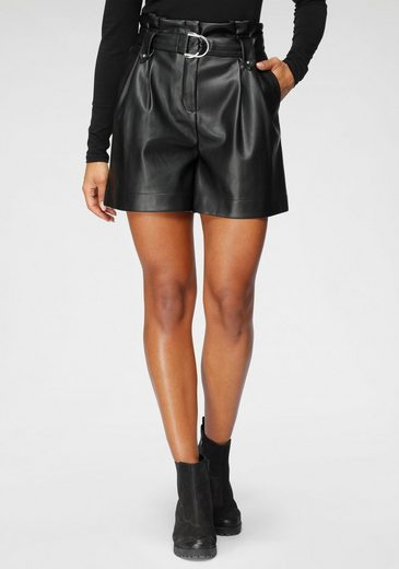 Only Shorts »ONLMAERYNN« aus Lederimitat