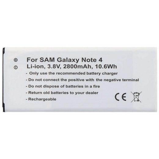 AccuCell »AccuCell Akku passend für den Samsung Galaxy Note« Akku