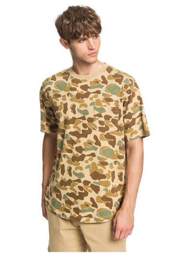 Quiksilver T-Shirt »Waterman Pacific Camo«