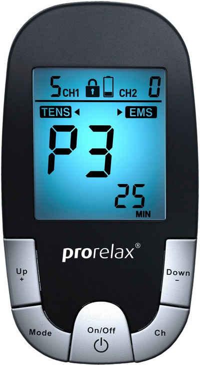 prorelax TENS-EMS-Gerät »SUPER DUO Plus Blackline«, 2 Therapien mit einem Gerät
