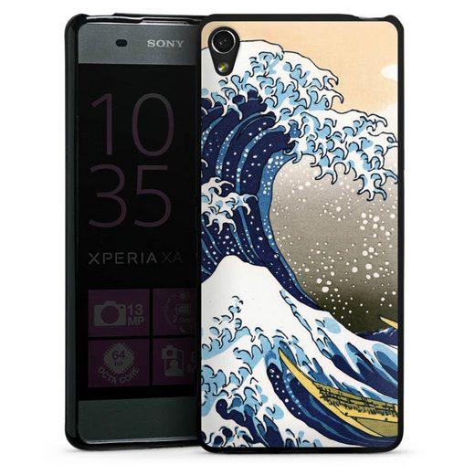 DeinDesign Handyhülle »Great wave of Kanagawa / Die große Welle vor Kanagawa« Sony Xperia XA, Hülle Katsushika Hokusai Kunst