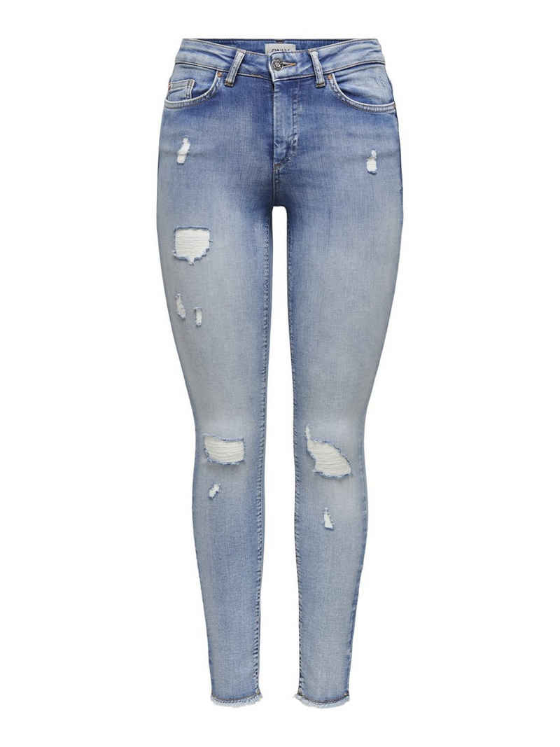 Only Skinny-fit-Jeans »BLUSH« Jeanshose mit Stretchanteil