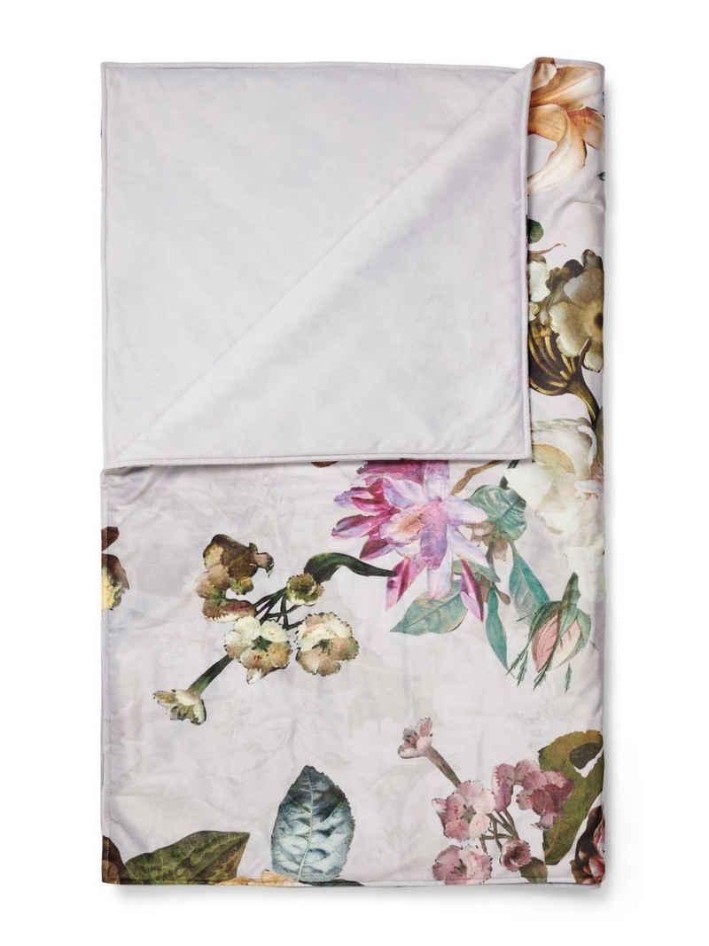 Tagesdecke »Fleur«, Essenza, mit Blumenprint
