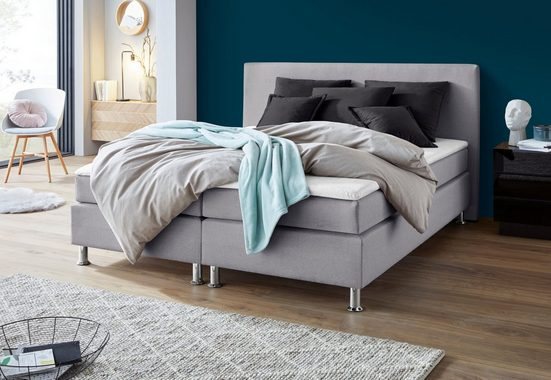 COLLECTION AB Boxspringbett, inkl. Topper und Komfortkissenset