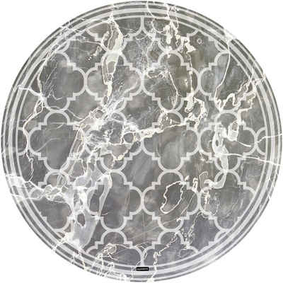 Vinylteppich »Buddy Richard«, MySpotti, rund, Höhe 0,03 mm, rund, wasserfest und statisch haftend