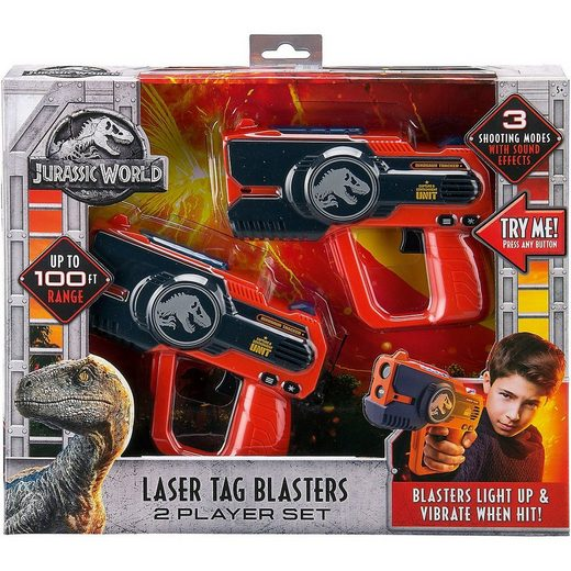 Jurassic World Blaster »Ekids Jurassic World Laser Tag Blaster«