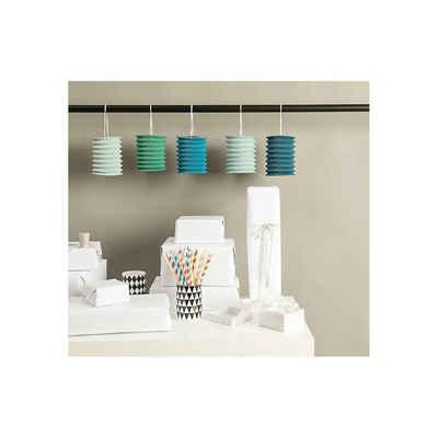 Rico Design Laterne »Papierzuglaternen Aqua, 5 Stück«