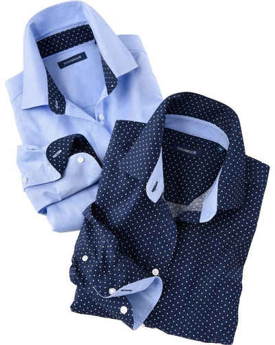 Highmoor Hemdbluse »Blusen im Doppelpack«