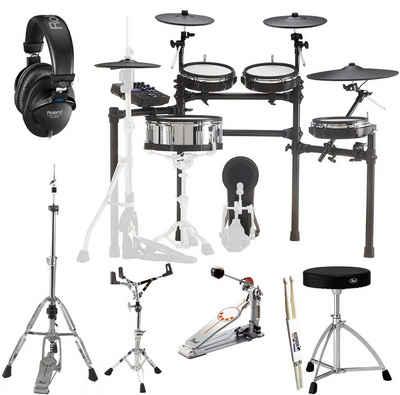 Roland Audio Elektrisches Schlagzeug »TD-27KV E-Drum mit Hardware + RH200 Kopfhörer«
