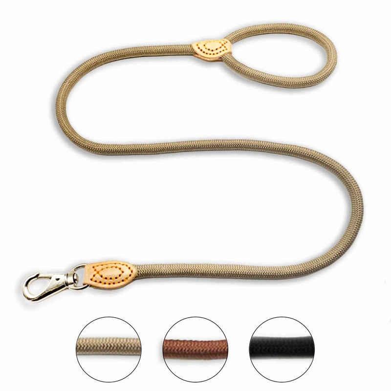 Monkimau Hundeleine »Hundeleine aus Nylon für mittelgroße Hunde in«, Nylon (Packung)