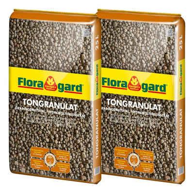 Floragard Tongranulat »Blähton« Drainagematerial, (2-St), je 25 l