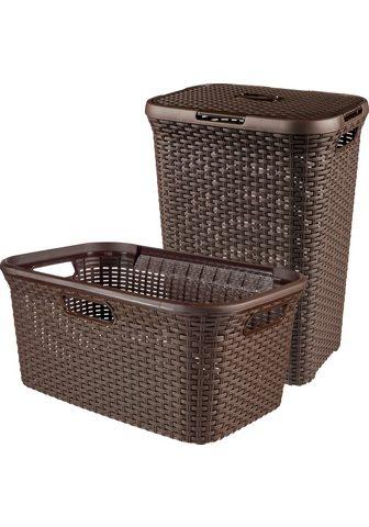 Curver Skalbinių krepšys »Style« (Set 2 viene...