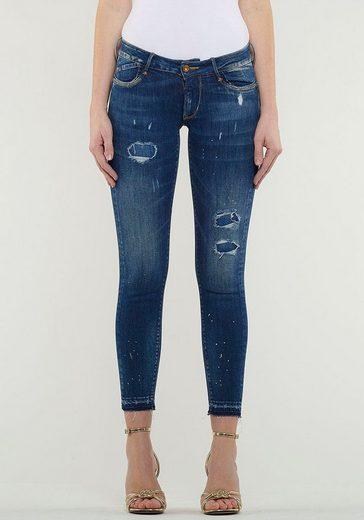 Le Temps Des Cerises Ankle-Jeans »MYRI« mit coolen Destroyed Effekten