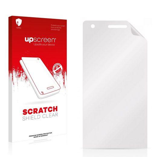 upscreen Schutzfolie »für Doogee Pixels DG350«, Folie Schutzfolie klar anti-scratch