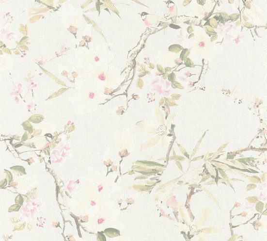 METROPOLIS BY MICHALSKY LIVING Vliestapete »Dream Again«, floral, geblümt, mit Blumen