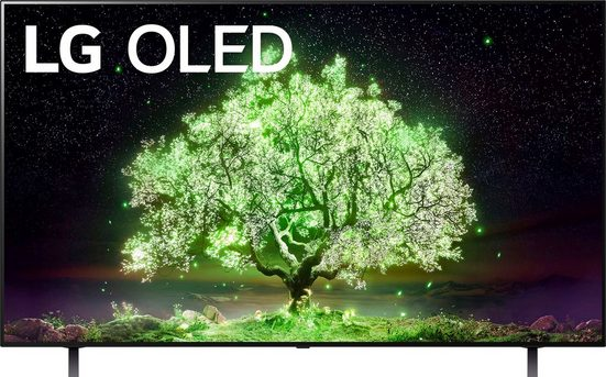 LG OLED65A19LA OLED-Fernseher (164 cm/65 Zoll, 4K Ultra HD, Smart-TV, (bis zu 60Hz), α7 Gen4 4K AI-Prozessor, Sprachassistenten, Dolby Vision IQ™, Dolby Atmos)