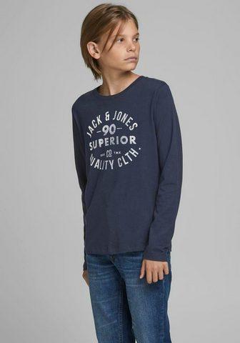 Jack & Jones Junior Jack & Jones Junior marškinėliai ilgom...