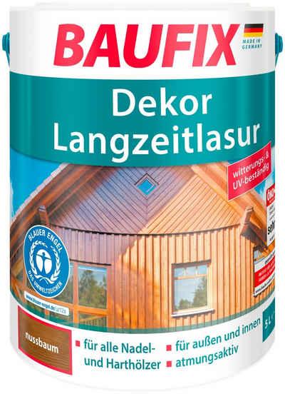 Baufix Holzschutzlasur »Nussbaum«, 5 Liter, braun