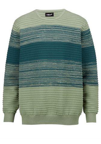 Men Plus Megztinis apvalia iškirpte iš grynos B...