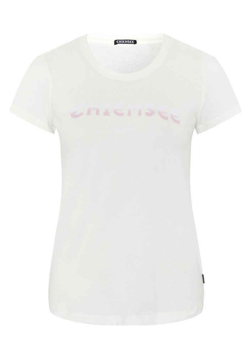Chiemsee T-Shirt »mit Rundhalsausschnitt« (1-tlg)