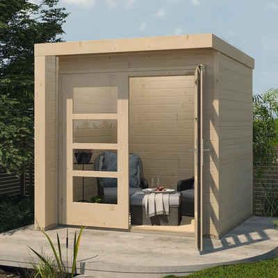 weka Gartenhaus »Design 262«, BxT: 214x215 cm
