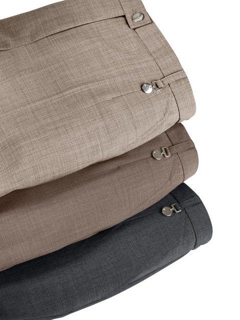 Hosen - Classic Bügelfaltenhose › braun  - Onlineshop OTTO