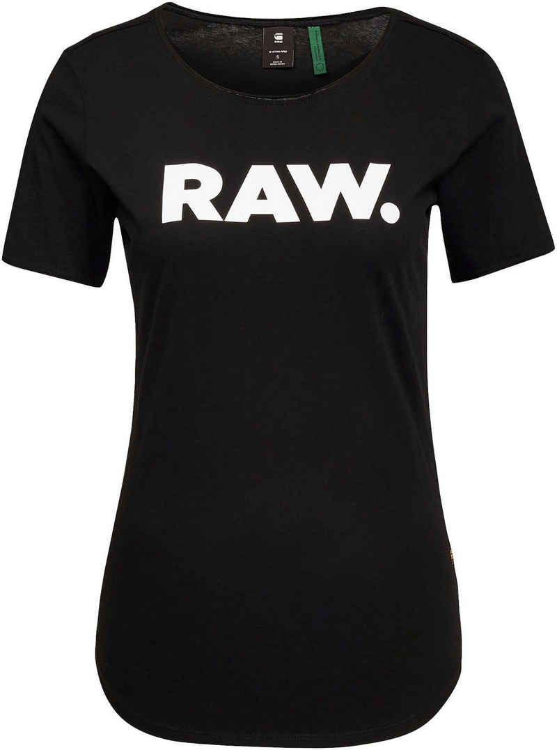 G-Star RAW T-Shirt »T-Shirt RAW. slim graphic« mit Logo Frontdruck