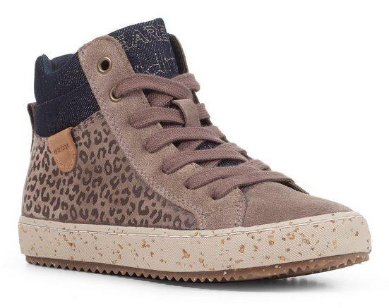 Geox Kids »WWF-Kollektion KALISPERA GIRL« Sneaker mit zusätzlichem Reißverschluss