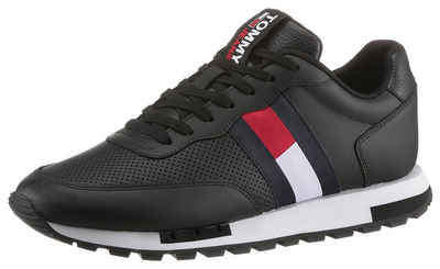 Tommy Jeans »RETRO TJM LEATHER RUNNER« Sneaker mit Logoschriftzug