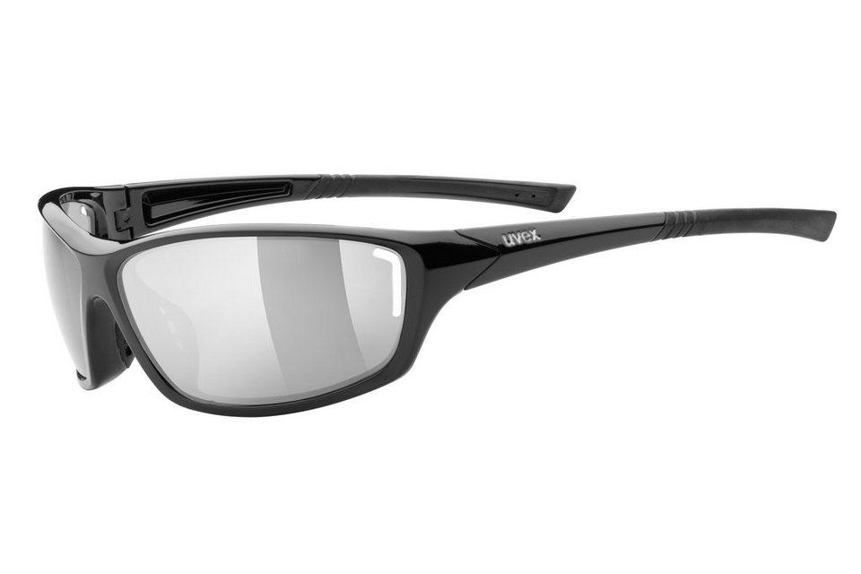 UVEX Radsportbrille »sportstyle 210 Brille« in schwarz