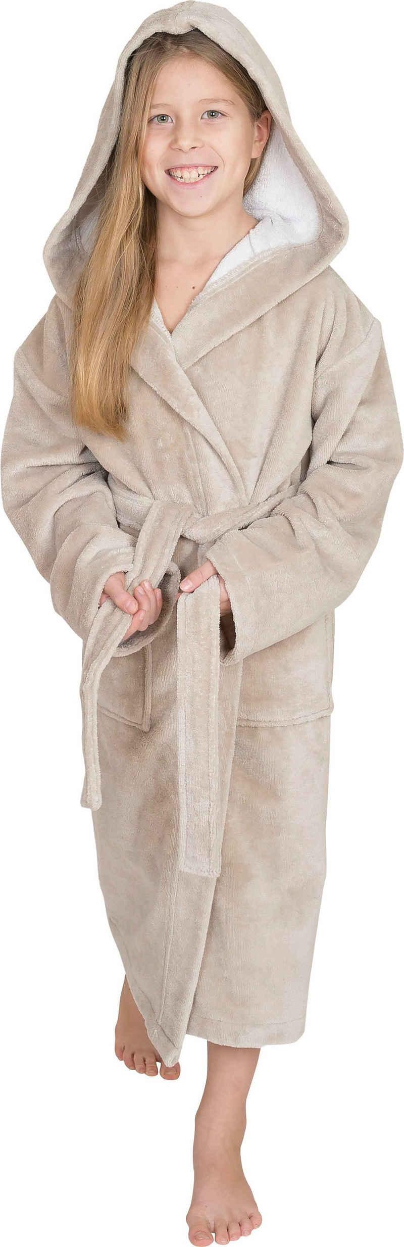 Kinderbademantel »8521«, Wewo fashion, mit Soft Touch