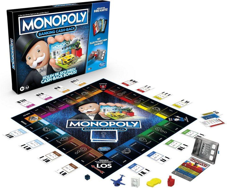Hasbro Spiel, »Monopoly Banking Cash-Back« kaufen | OTTO
