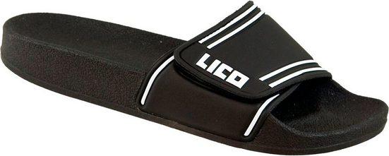 »430010« Sandale COAST V - Badepantolette schwarz