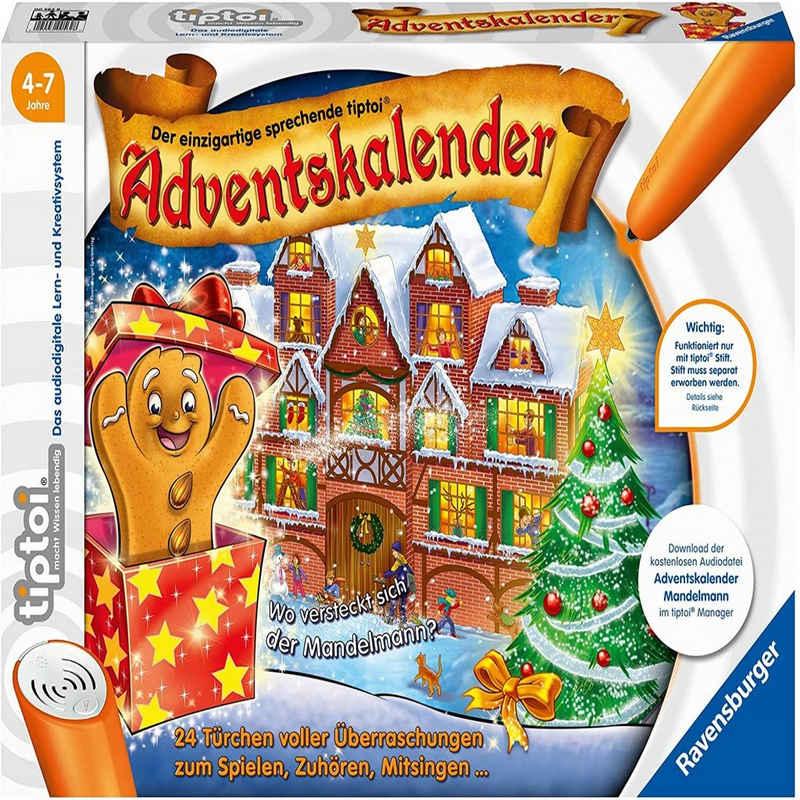 Ravensburger Lernspielzeug »tiptoi Adventskalender Mandelmann« (Spar-Set)