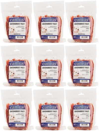 Canius Hundesnack »Entenbrust Filet«, 9 x 250 g