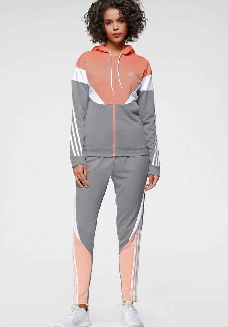 adidas Performance Trainingsanzug »WOMEN COLORBLOCK TRACKSUIT«