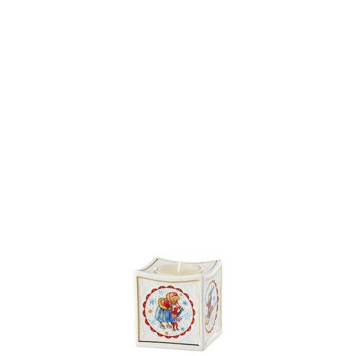 Hutschenreuther Teelichthalter »Porzellanlicht Sammelkollektion 2018 Winterfreuden« (1 Stück)