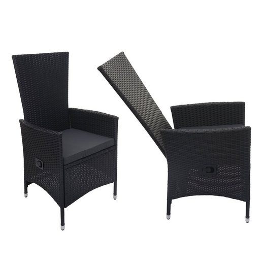 MCW Sitzgruppe »MCW-F49-2xS-verstellbar«, (Set, 2-tlg), Garten