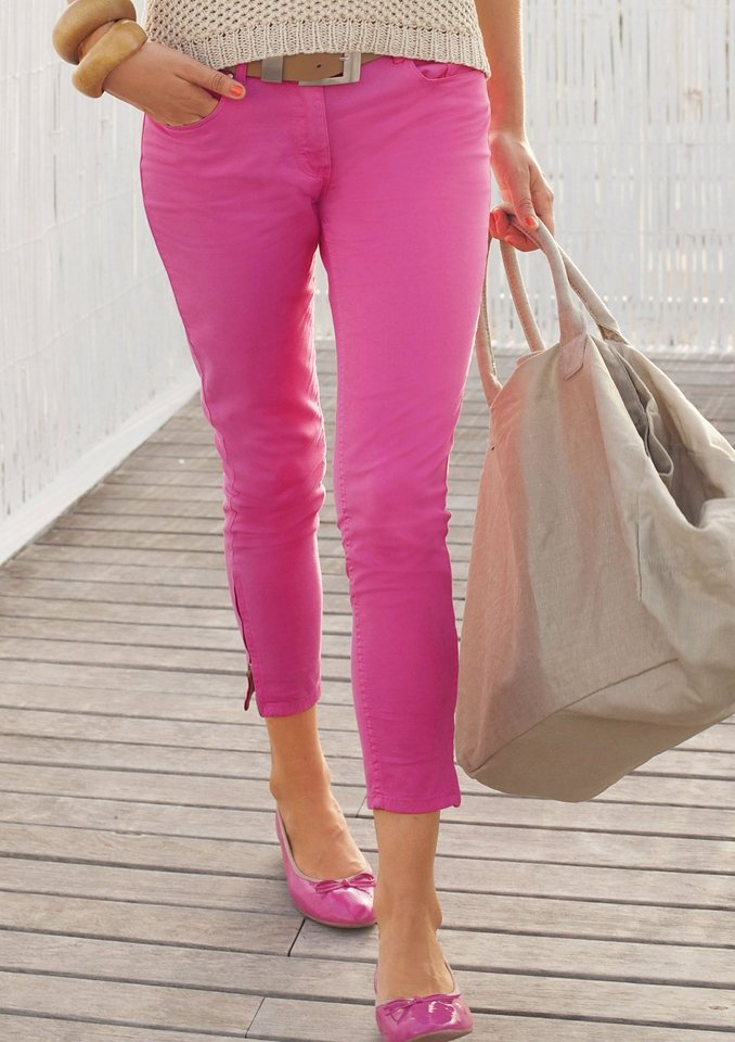 Tamaris 5-Pocket-Hose in pink