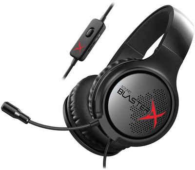 Creative »SB X H3« Gaming-Headset (Mikrofon abnehmbar, Rauschunterdrückung)