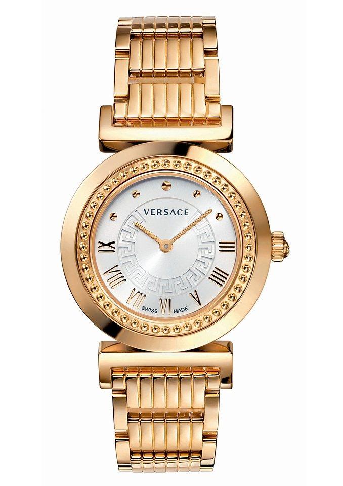 Versace Schweizer Uhr »VANITY, P5Q80D001S080« in goldfarben