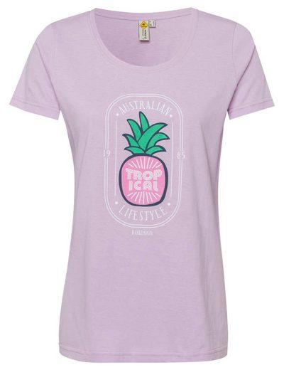ROADSIGN australia T-Shirt »Summerfruit« mit Ananas-Print