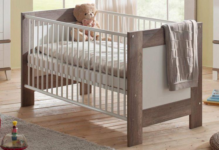 babybett zur babym belserie bella in wildeiche tr ffel. Black Bedroom Furniture Sets. Home Design Ideas