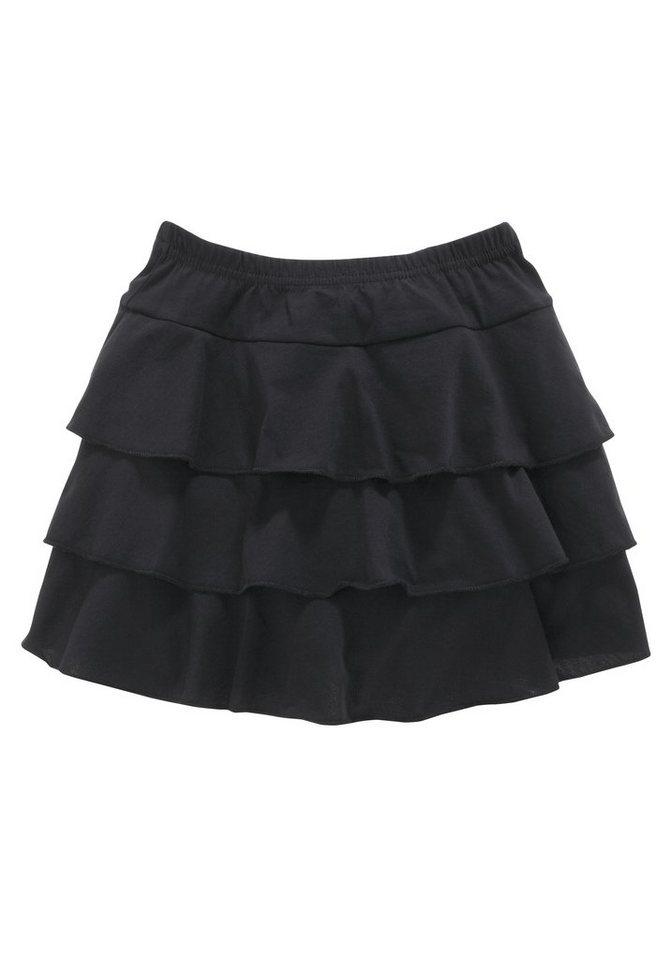 CFL Rüschenrock, für Mädchen in Schwarz