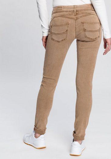 Herrlicher Slim-fit-Jeans »GILA SLIM« mit seitlichem Keileinsatz